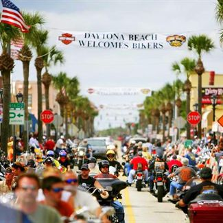 Daytona Beach Bike week photo